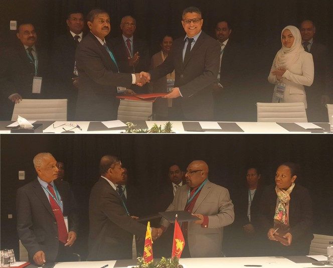 The Financial Intelligence Unit-Sri Lanka enters into Memoranda of Understanding with the Financial Intelligence Unit Maldives and Financial Analysis and Supervision Unit of Papua New Guinea